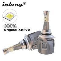 inlong 100% Original Xhp70 Mini H4 Led Bulb H7 15600LM D4S H1 H8 H11 9005 D3S 9006 HB4 D1S Car Headlight Bulbs 6000K Fog Lights