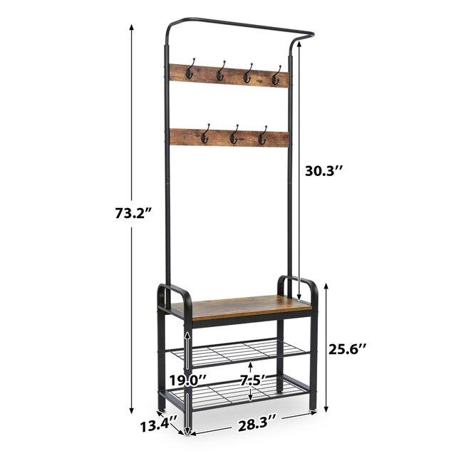3-Tier Floor Standing Shelf  6