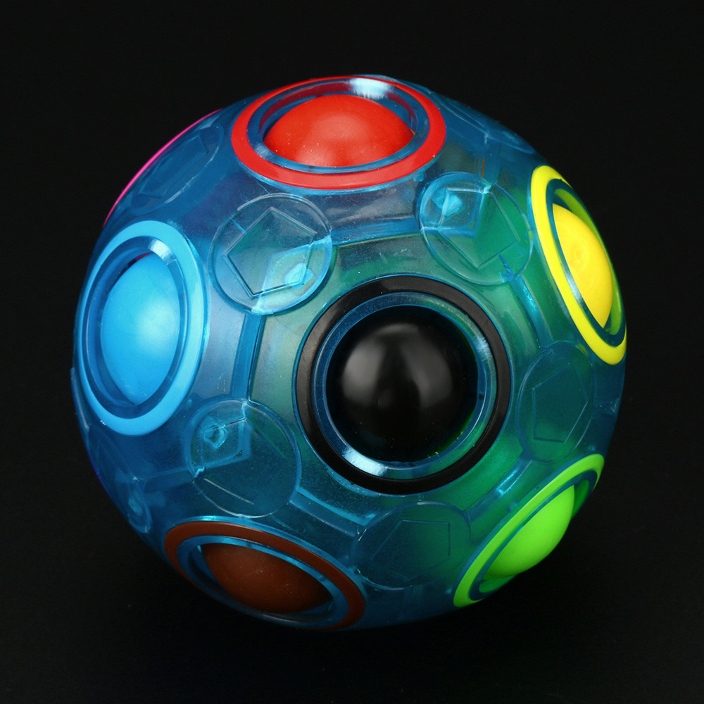 Puzzle-Toy Board-Controller It-Fidget-Toys Stress-Ball Rainbow Luminous Simple Dimple img5