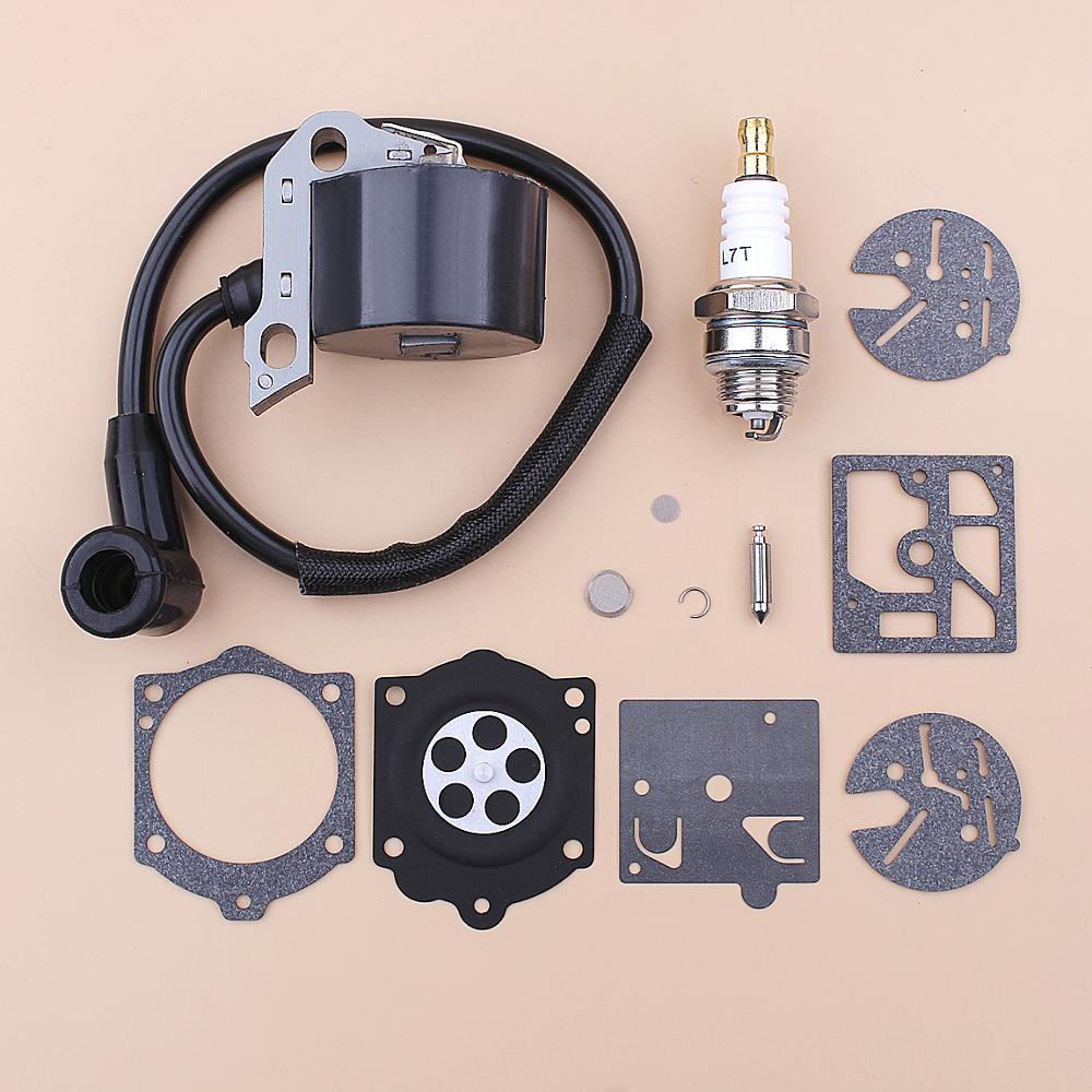 Ignition Coil Spark Plug For Stihl 015 015AV 015L Chainsaw Carburetor Repair Kit 1114 404 3200