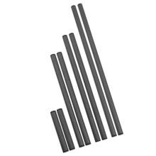 2 шт. диаметр 15 мм непрерывный Фокус Rig клетка стержень рельсовая система для камеры видеокамеры Аксессуары для фотостудии трубка из углеродного волокна