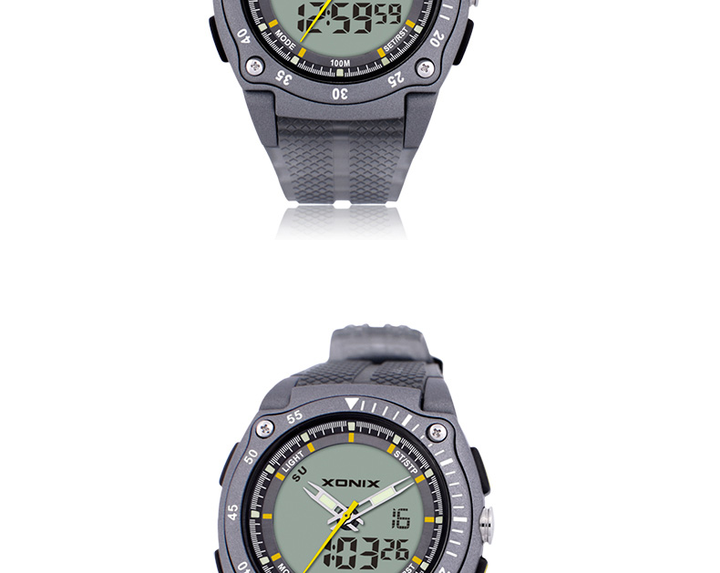 Nova marca sports chronograph relógios de pulso