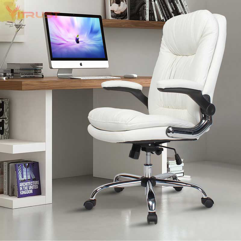 Gaming Chair Leather High Back Racing Style Computer PC Chair Ergonomic Desk Chair Swivel Bucket Gaming Chair With Lumbar