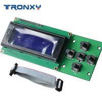 1PC Tronxy 3D Peças Da Impressora 2004 Tela Lcd 5 Teclas Botão Rotativo Acessórios DIY Com Cabo Novo