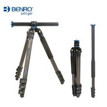 Benro GC358F חצובה סיבי פחמן חדרגל מצלמה עבור Nikon Canon Sony DSLR 4 סעיף נשיאת תיק מקסימום טעינת 18kg