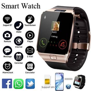 Bluetooth DZ09 Smart Watch Man Relogio Android smartwatch phone fitness tracker reloj Smart Watches subwoofer montre homme smart watch dz09 white