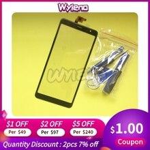 "Wyieno 6.0 ""BQ6010G الاستشعار الهاتف استبدال أجزاء ل BQ 6010G الممارسه اللمس شاشة محول الأرقام لمس لوحة"
