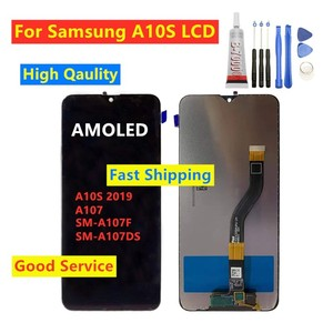 For Samsung Galaxy A10s A10S 2019 A107 SM-A107F SM-A107DS LCD Display Touch Screen Digitizer For Samsung A10S Lcd Glass Screen
