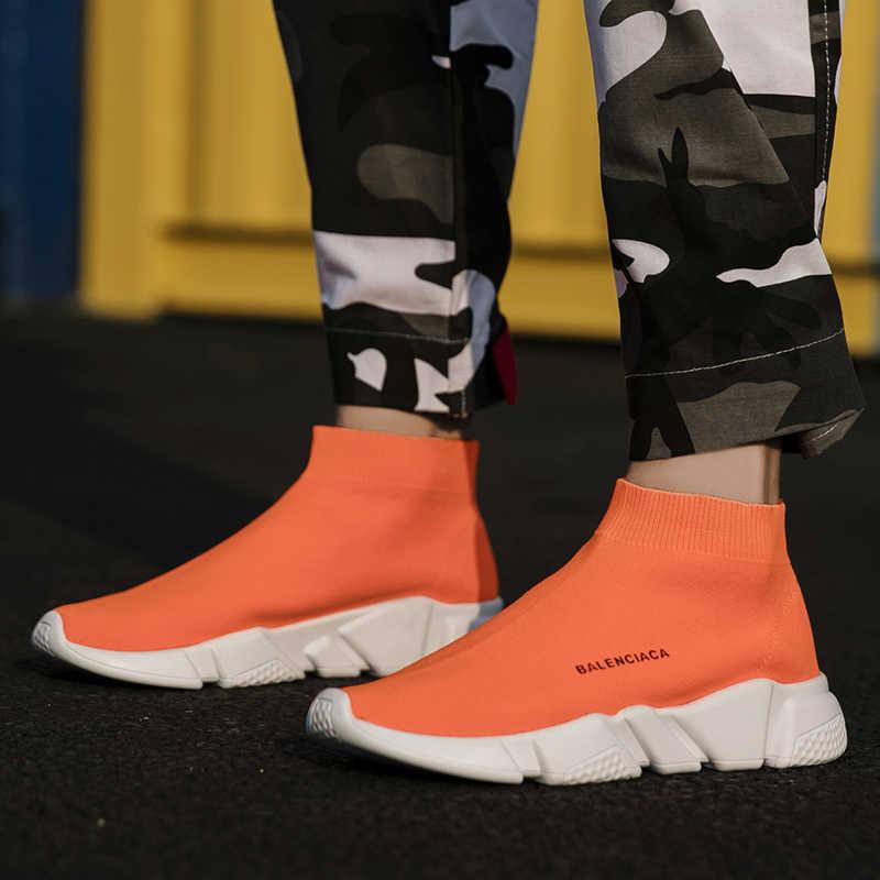 Zapatillas de deporte informales para hombre, zapatillas de deporte para hombre, zapatillas de deporte de verano para hombre, transpirables, Sapato Masculino