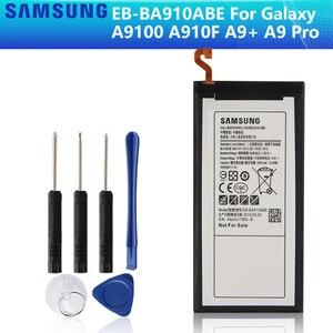 SAMSUNG Original Battery EB-BA910ABE For SAMSUNG GALAXY A9100 A910F A9+ A9 Pro SM-A9100 5000mAh Authentic Battery