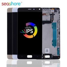 ORIGINAL For LENOVO Vibe P1 LCD Touch Screen Digitizer Assembly For Lenovo Vibe P1 Display with Frame Replacement P1 P1c58 LCD цена и фото