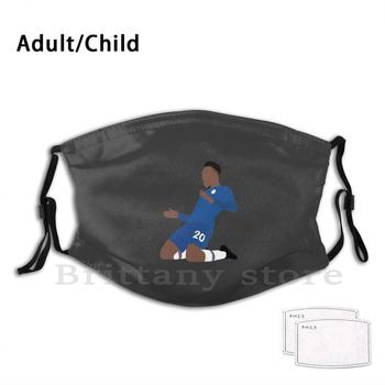 Callum-Odoi. Football. Euro Club Adult Kids Pm2.5 Filter DIY Mask Footballers Sportman image