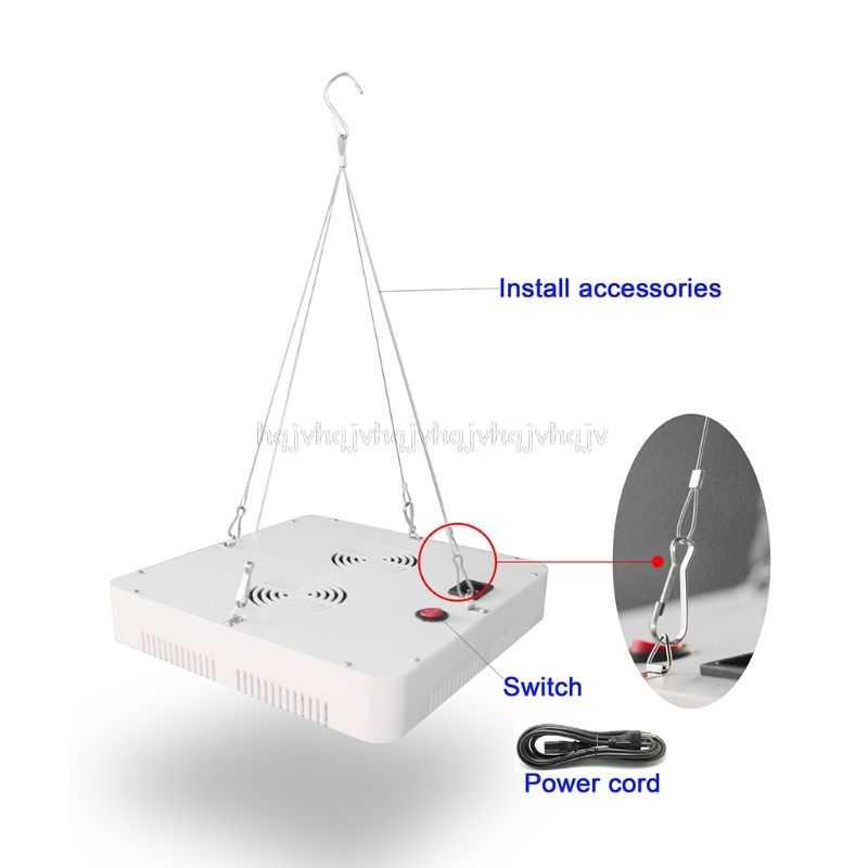 300W LED plante grandir lumière spectre complet IR UV intérieur hydroponique lampe serre Kit d'éclairage S25 19 livraison directe