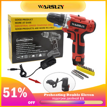 12V screwdriver power tools mini lithium battery drill electric drill cordless drill for Installing removing screws and drilling hammer drill electric redverg rd rh1500 power 1500 w drilling in concrete to 36mm антивибрационная system