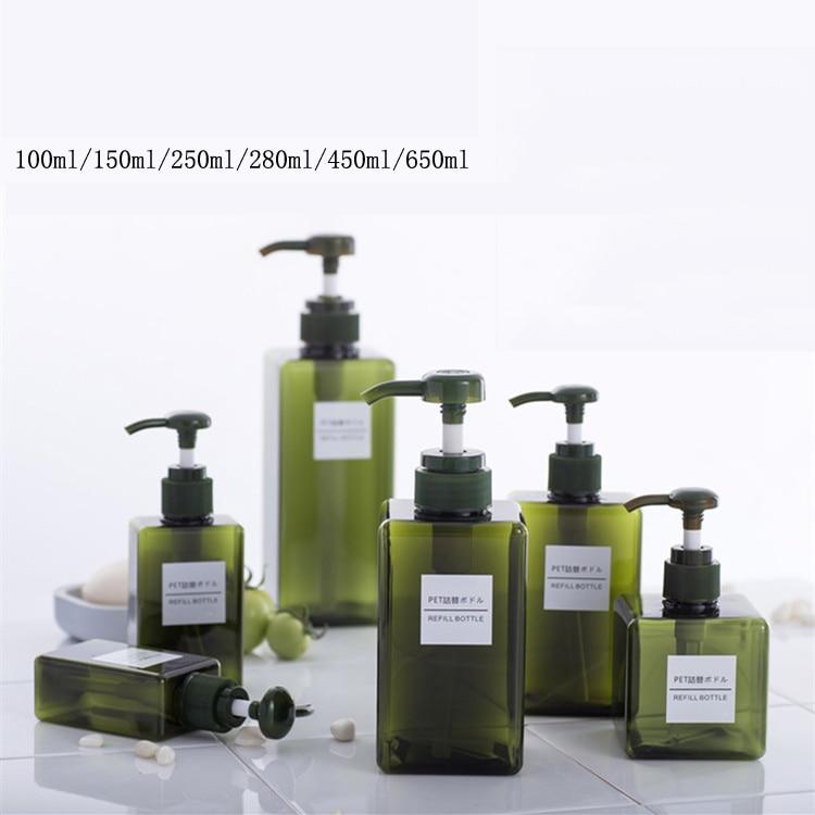 8 шт./компл. дорожный набор Пластик, прозрачная, сумка для макияжа, парфюмерные бутылка аксессуары для путешествий