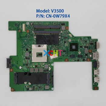 CN-0W79X4 0W79X4 W79X4 GT310M GPU HM57 for Dell Vostro 3500 V3500 Laptop PC Notebook Motherboard Mainboard for hp notebook 15 af series 813971 601 813971 001 813971 501 abl51 la c781p a8 7410 cpu r5m330 2gb gpu laptop pc motherboard