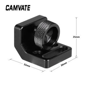 """Image 4 - CAMVATE SmallHD 700 Monitor Support Bracket With 1/4"""" 20 Thumbscrew Mount & Locating Pins For FeelWorld F6 Plus Monitor Cage New"""