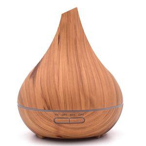 Image 5 - ثانكشير 400 مللي بالموجات فوق الصوتية مرطب للعلاج بالروائح زيت طبيعي معطر الهواء لتنقية ضباب صانع ناشر رائحة مبيد المنزل