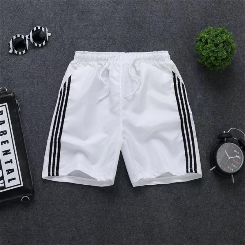 2019 Summer New Style Shorts Loose Casual MEN'S Beach Pants Lively Like Reds Celebrity Style Shorts Shorts