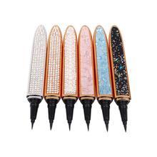 Wholesale Liquid Eyeliner Lash Glue Pen Private Label Cosmetics Diamond Magic Eyeliner Bulk Makeup Eyelash Glue Liner Pen Pencil