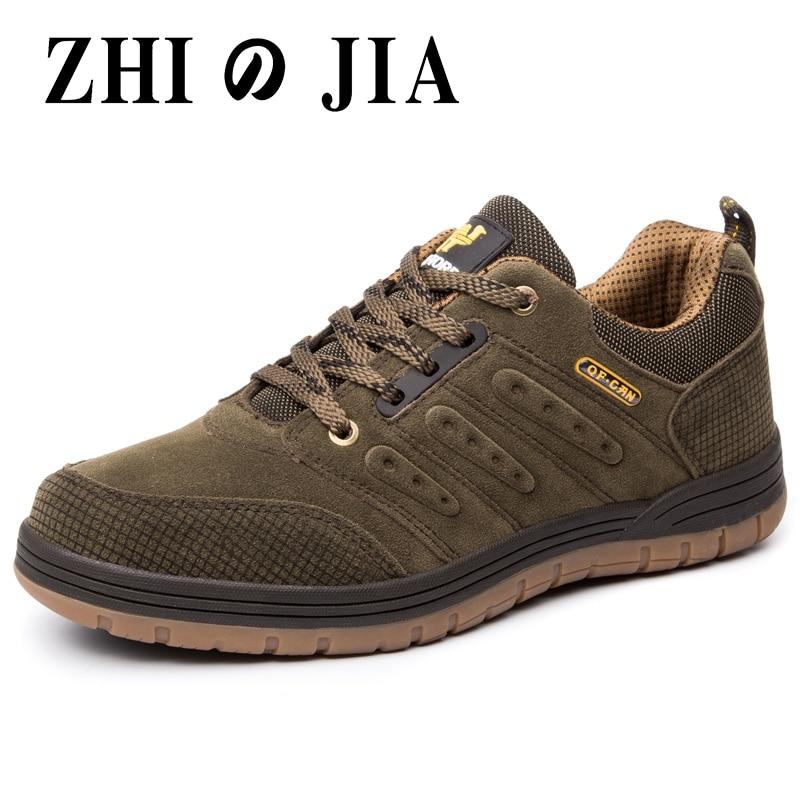 Новое поступление, Мужская обувь для пешего туризма в классическом стиле, мужская спортивная обувь на шнуровке, износостойкие уличные бего...