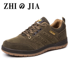 New Arrival Classics Style Men Hiking Shoes Lace Up Men Sport Shoes Wear-resistant Outdoor Jogging Trekking Sneakers Camping