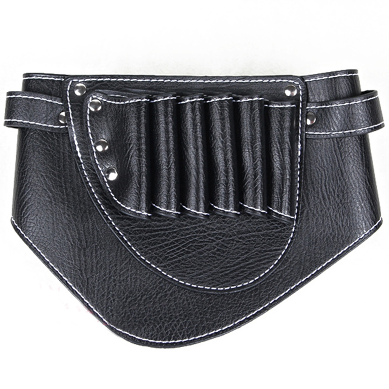 BEAU-Salon Barber Scissors Bag Scissor Clips Shears Shear Bags Tool Hairdressing Pouch Holder Case Belt