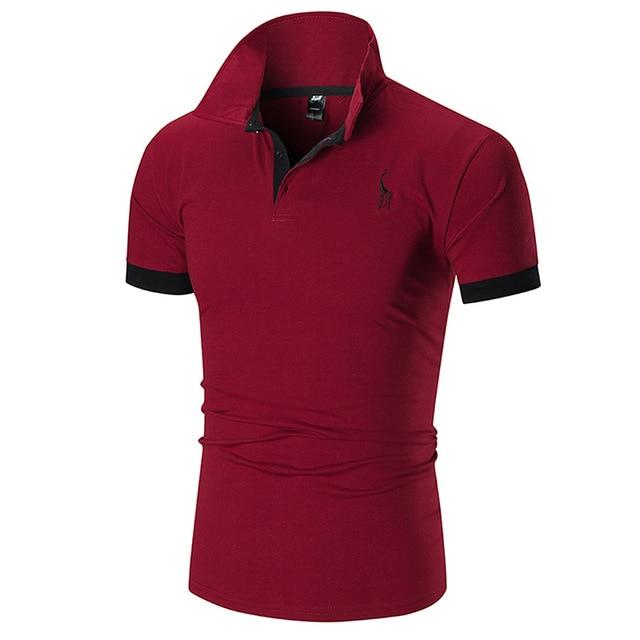 men's polo shirts casual short sleeve polo shirt men fashion embroidery Business men's clothing thin summer polo shirt men 4