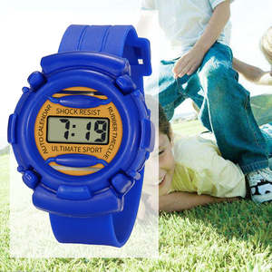 Watch Children Lightweight Silicone Electronic Durable Kids Casual And