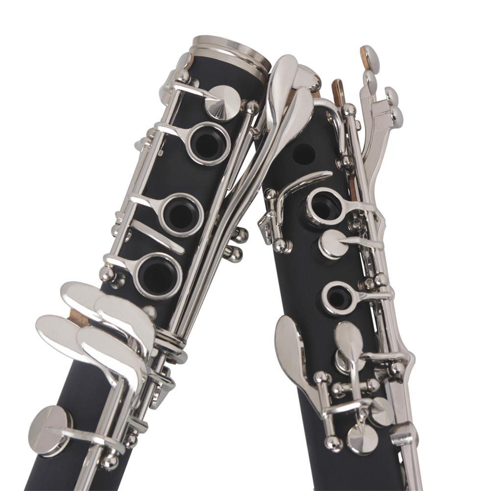 binocular clarinete com pano de limpeza luvas
