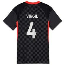 New Adult Youth Custom Jersey 20 21 Football Jerseys VIRGIL 2021 Anfield Soccer Jerseys Maillot De Football Football Uniform