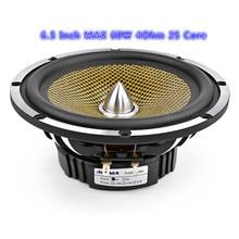 6,5 zoll Auto Audio Mitten Bass Lautsprecher High Power 4 8 Ohm 60 W 25 Core Kugel Aluminium Becken Musik woofer Lautsprecher