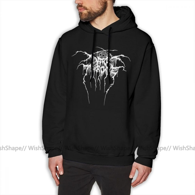 Darkthrone Hoodie Darkthrone, Logo, Hemd, Camiseta Hoodies Winter Männlichen Pullover Hoodie Baumwolle Outdoor Lange Über Größe Hoodies