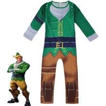 Kids Children Game Codename ELF Cosplay Costume Zentai Bodysuit Suit Jumpsuits Halloween