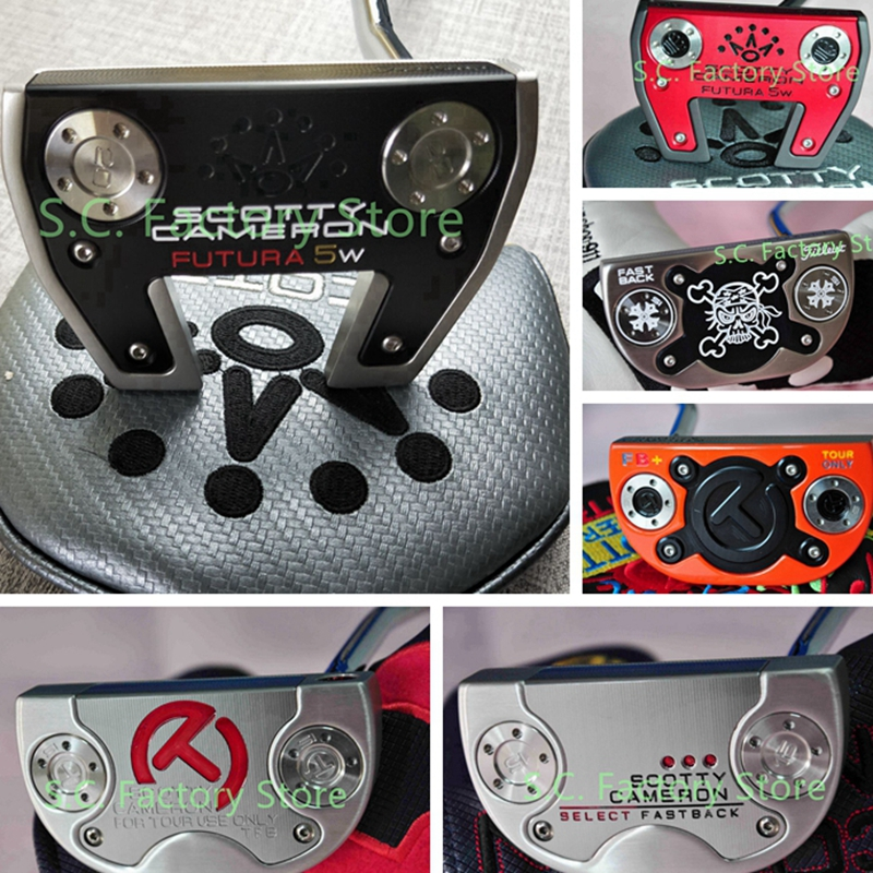 Scotty Fatura 5w International Collector Cameron Circle T Select Fastback Tour Use Tfb Sb+ Squareback Fb+ Putter Milled Putters
