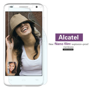 TPU Soft Nano Film For Alcatel Idol 2 Mini S OT-6037K 3 4 4S 5 5s Alpha 6012D Ultra 6045Y Screen Protector Not Tempered Glass image