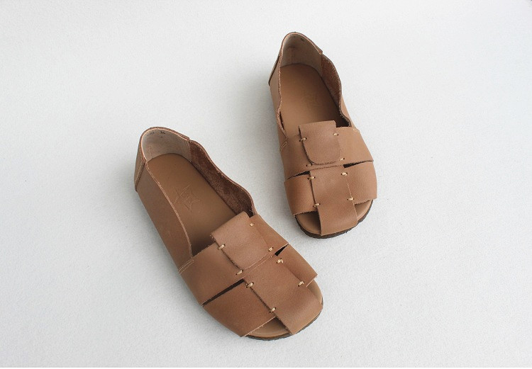 women's genuine leather shoes