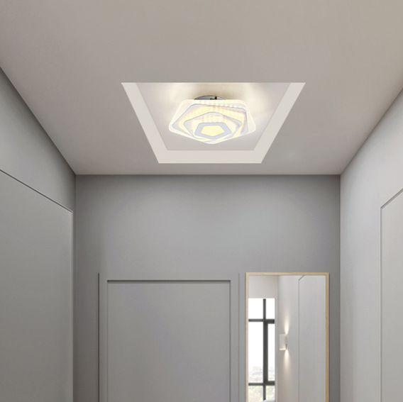 Moderno contratado lâmpada do corredor absorve cúpula