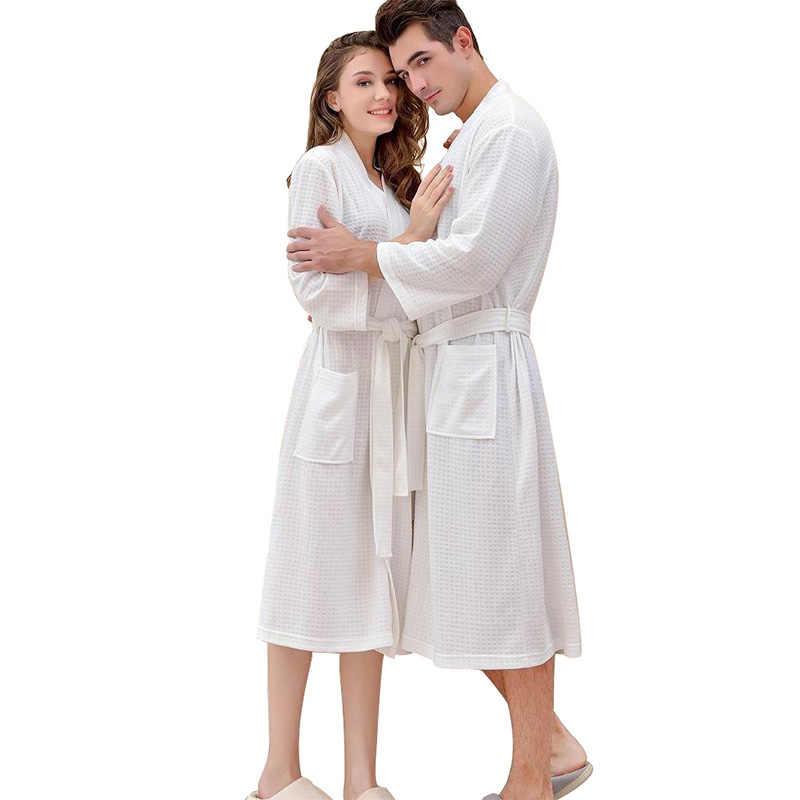 אוהבי קיץ אופנה ופל חלוק רחצה נשים למצוץ מים קימונו חלוק אמבטיה בתוספת גודל סקסי הלבשה שמלת שושבינה גלימות