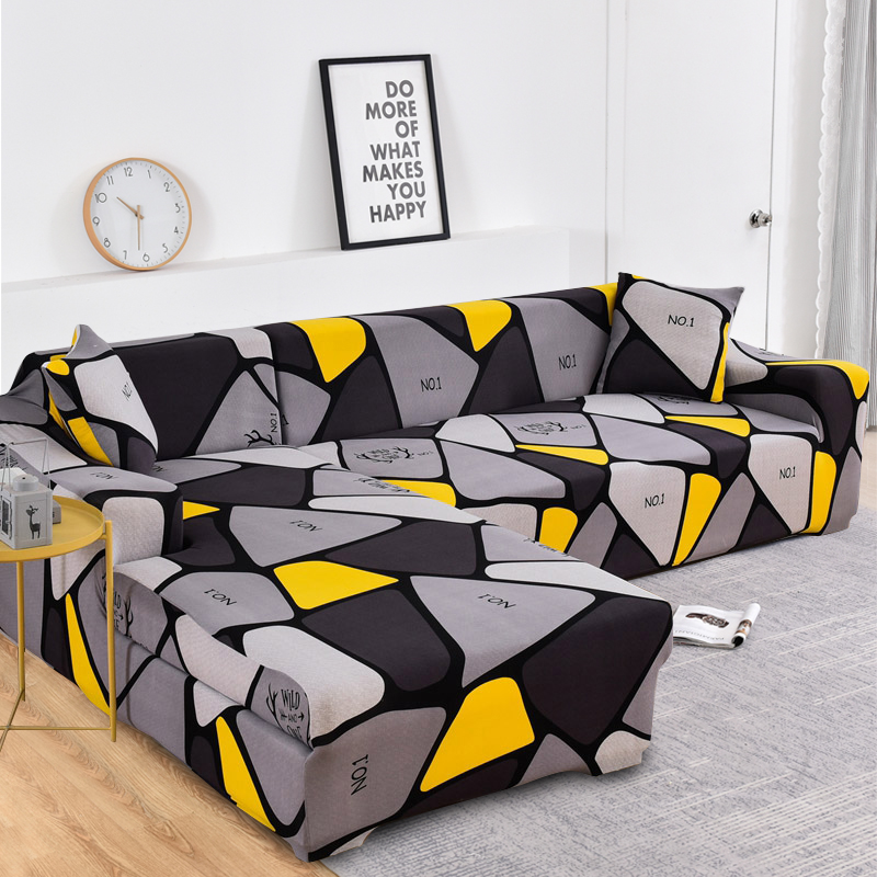 Купить l образный чехол для дивана растягивающийся в гостиной полотенце