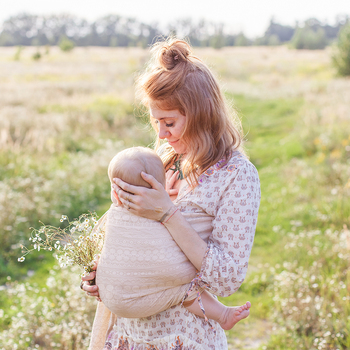 All-in-1 Stretchy Baby Wraps Baby Sling Infant Carrier Nursing Cover Hands Free Baby Wrap Postpartum Belt Great Baby Shower Gift 14