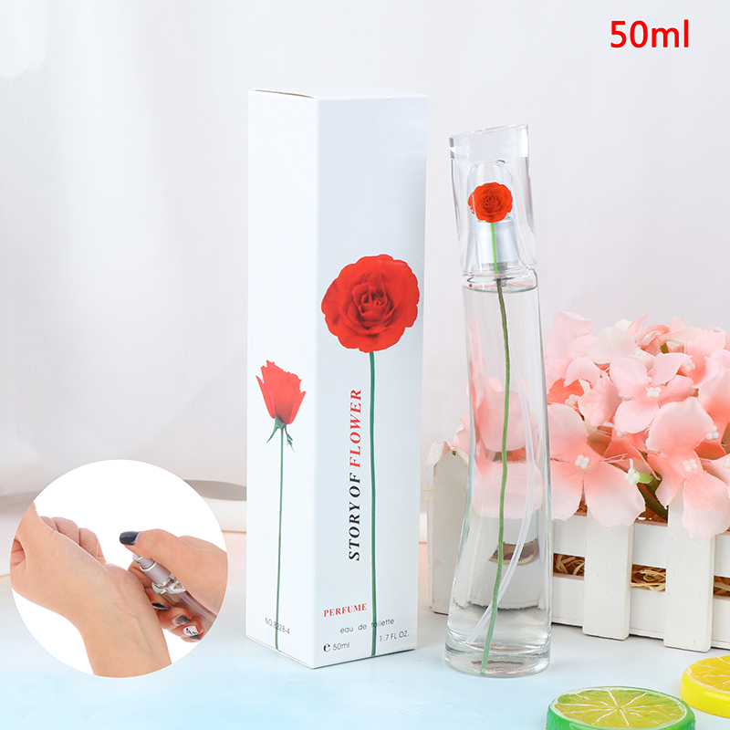 Original Liquid 50ml Women Fragrance Antiperspirants Female Fragrance Lasting Perfumed Lady Natural Parfum Fragrances