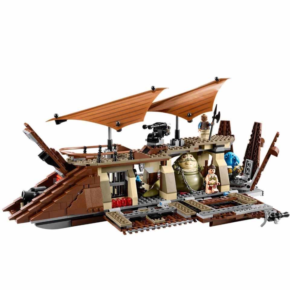 StarWars Transporter Heavy Scout Walker 05090 Jabba Sail Barge Star Wars Model Building Blocks Compatible Legoinglys Toys Gift
