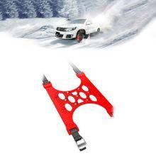 ONEWELL 6 шт. цепи для шин, цепи для снега, зимний грузовик, автомобиль, легкая установка, цепь для снега, шины, противоскользящий ремень