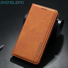 יוקרה מגנטי טלפון מקרה עבור IPhone 11 פרו XR Xs מקסימום X 8 7 6 בתוספת X עור Flip ארנק ספר כיסוי עבור IPhone 11 11Pro Coque