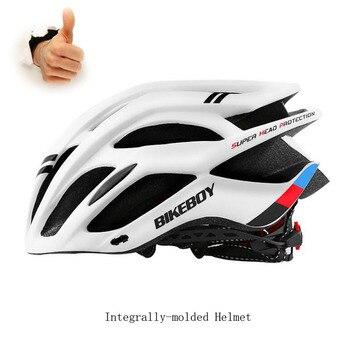 Новый Сверхлегкий велосипедный шлем в форме, велосипедный шлем MTB, велосипедные шлемы Casco Ciclismo, защитные шлемы для дорожного движения