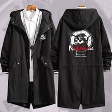 תאריך אנימה חי Tokisaki Kurumi קוספליי ארוך מעיל רוח נשים גברים סתיו החורף חם סלעית מיקוד מעיל רוח מעיל outercoat