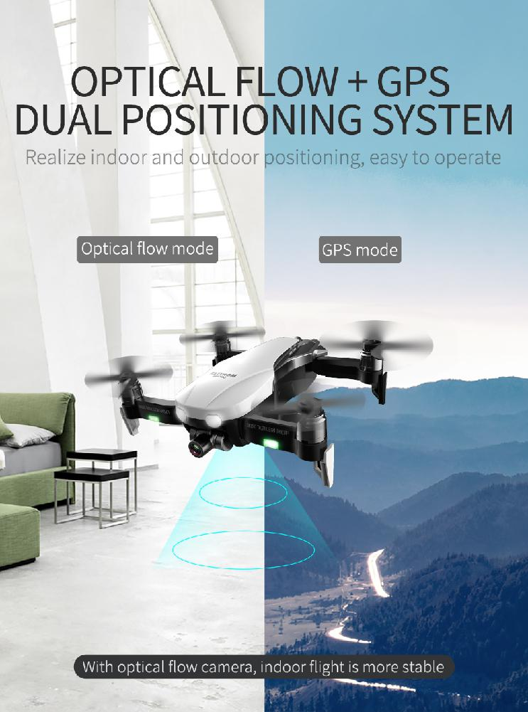F8 Profissional Drone FPV Vision with 4K HD Camera Two-Axis Anti-Shake Self-Stabilizing 24