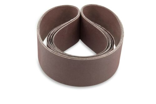 6pcs Sanding Belts 80 Grit Aluminium Oxide For Sander Replacement Accessories