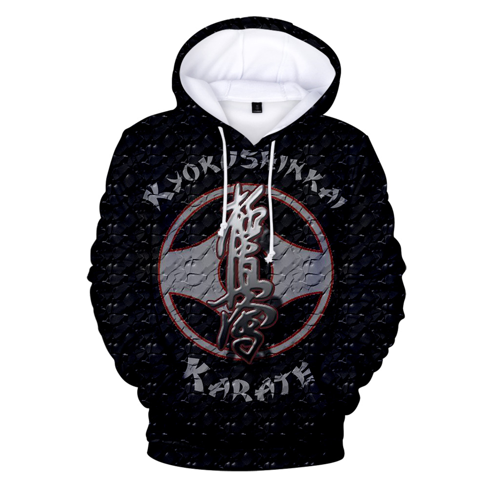 New Kyokushin Karate Hoodies Men Women 3D Print Hoodie Kyokushin Karate Sweatshirts Autumn Winter Tracksuits Hooded Pullovers